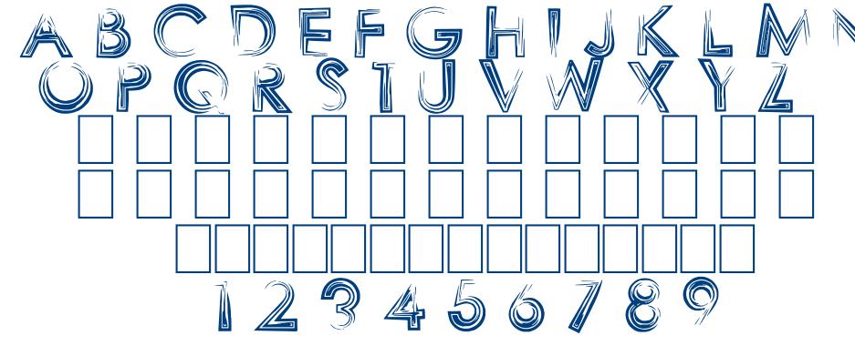 SHARPY font