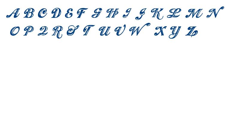 SHOWMEN font