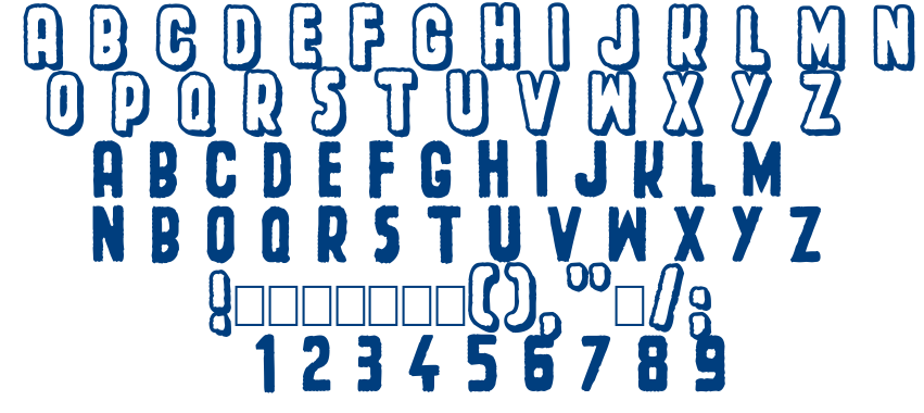 Spacecard font