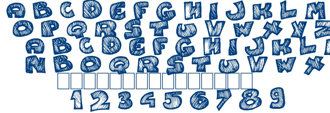 Speedy font