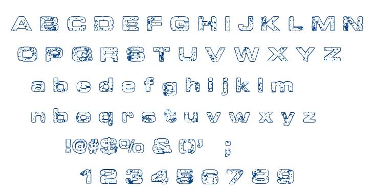 Sponge font
