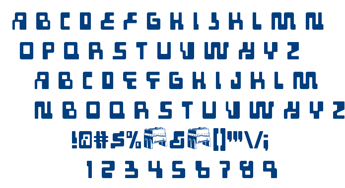 Tabletron font