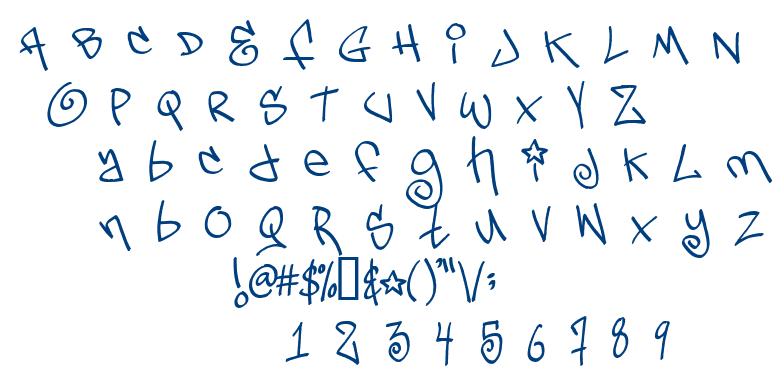 Tags Xtreme 2 font