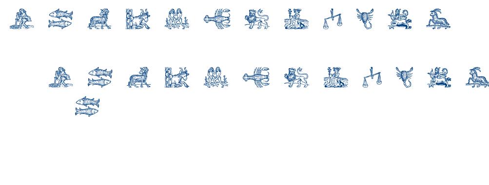 Tierkreis3 font