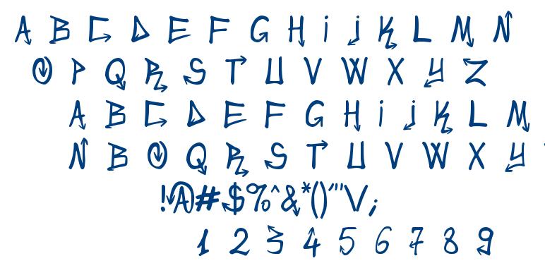 Urban&Slick font