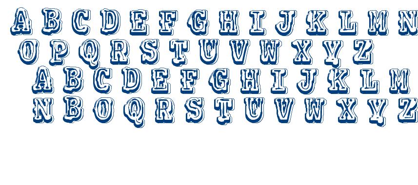 VTKS Colagem font