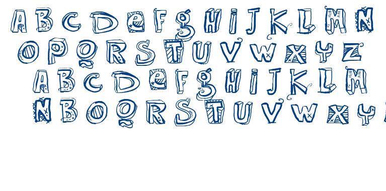 VTKS Easy Way font