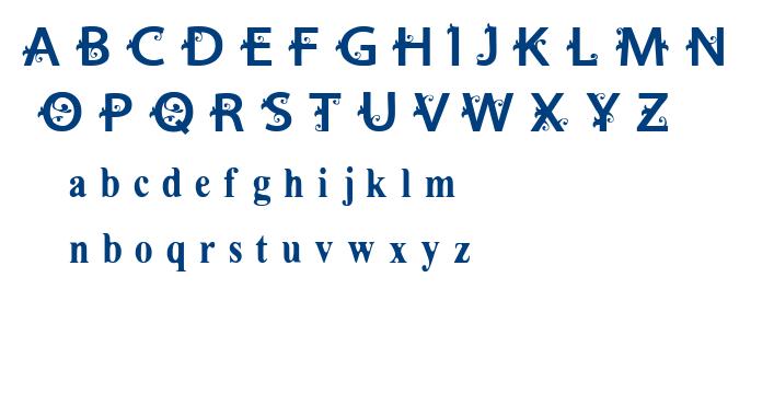 VTKS Estilosa font