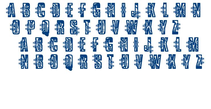 VTKS Low Rider font