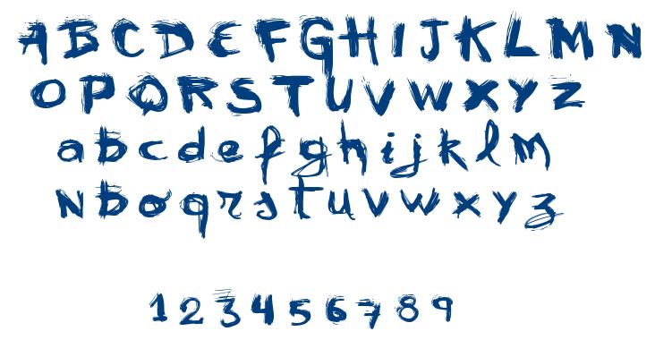 VTKS Mural font