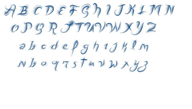 Vtks Fresh Mint font
