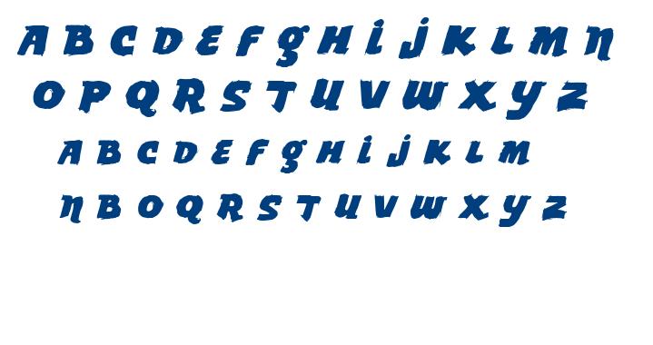 Vtks Lemon Drop font