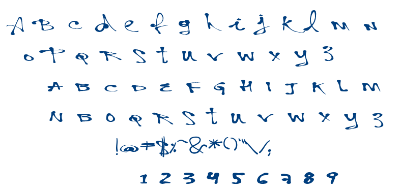 Vtks Personal font