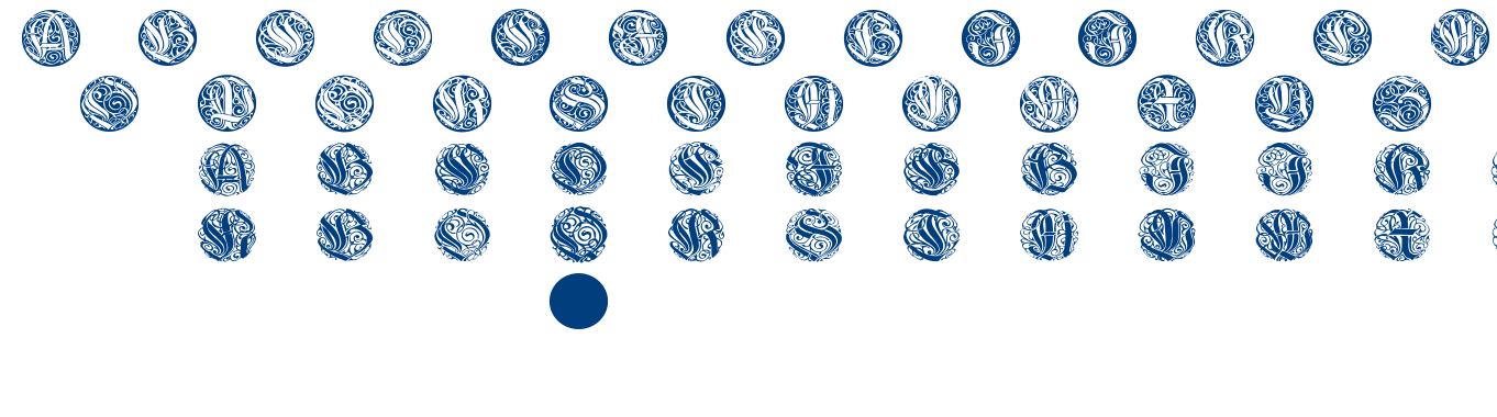 Wieynk Caps Round font
