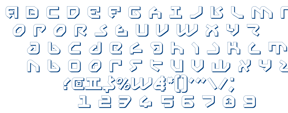 Yahren font