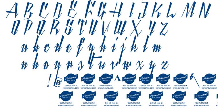 Yanty Script font