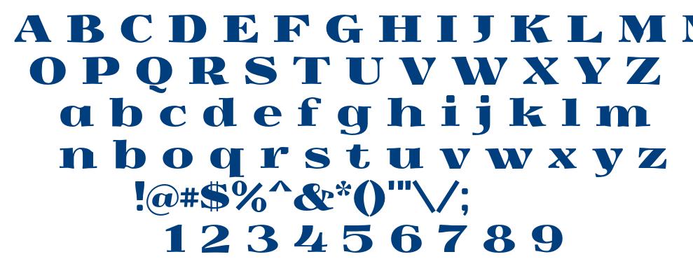 Yokawerad font