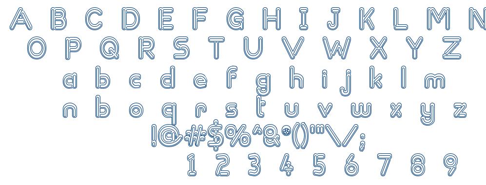 Zapped Sticks font