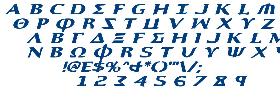 Aegis font