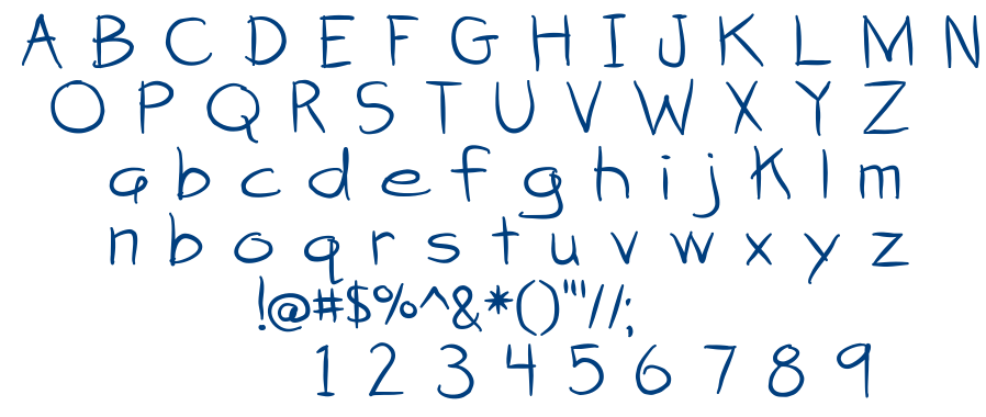 Attack of the Cucumbers font