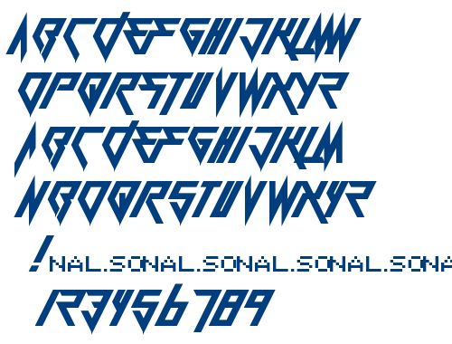 Berate The Elementary font
