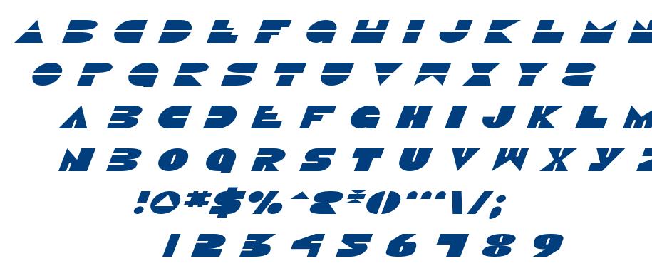 Disco Duck font