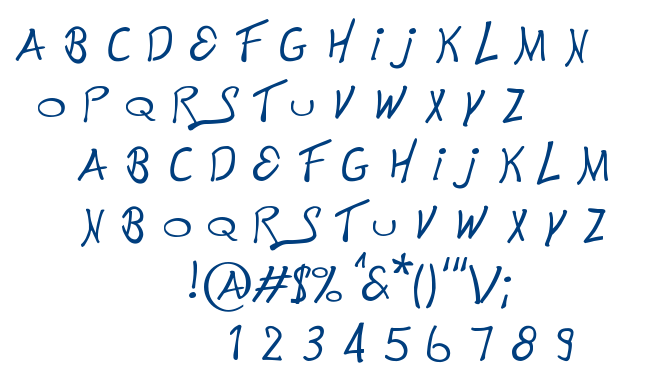 This is Electronik font
