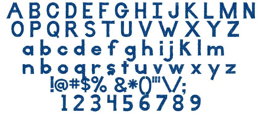 Illuminate font