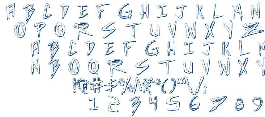 Incubus font
