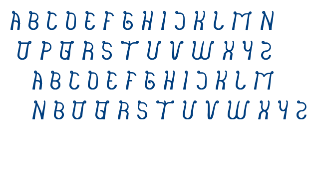 India Hair Style font