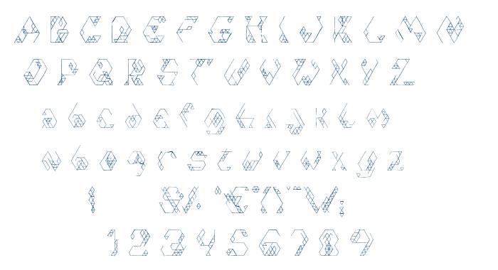 Iso 2.0 font