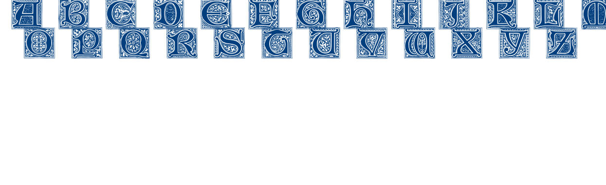 MEDIEVAL VICTORIANA font