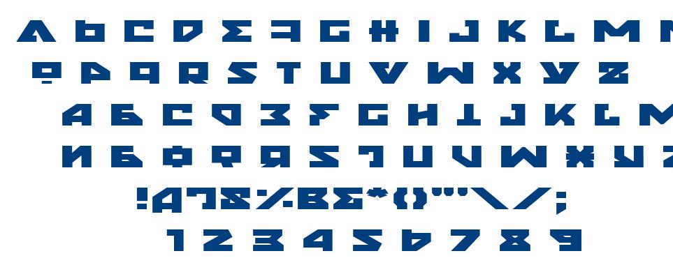 Nyet font
