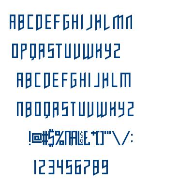 Opulent Fiend font
