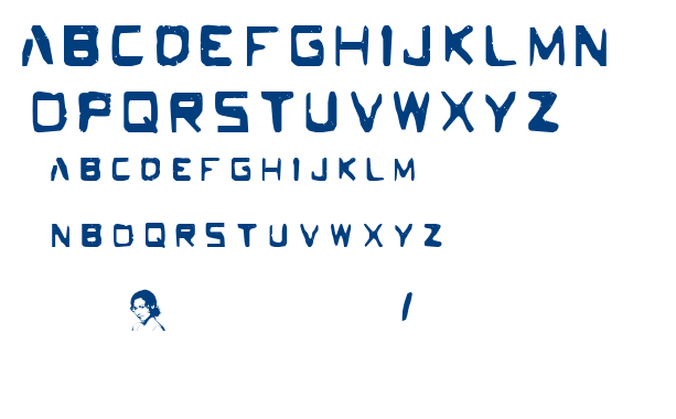 The Deeper font