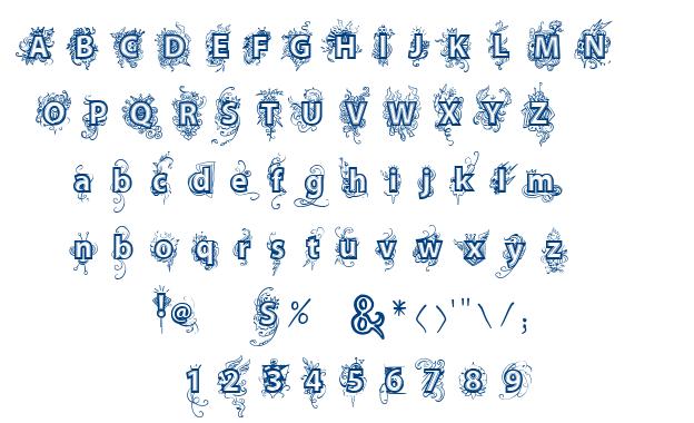 VTKS Deja Vu font