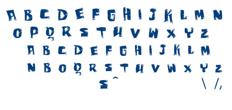 Vtks Bagaço font