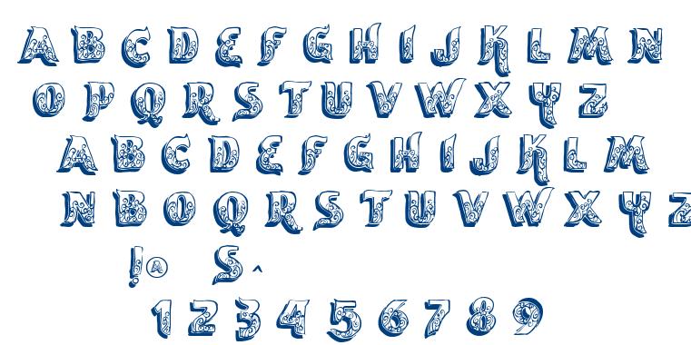 VTKS Encantar font