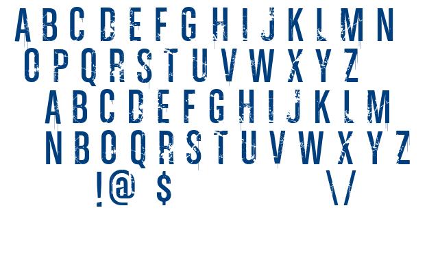 Vtks Ink font