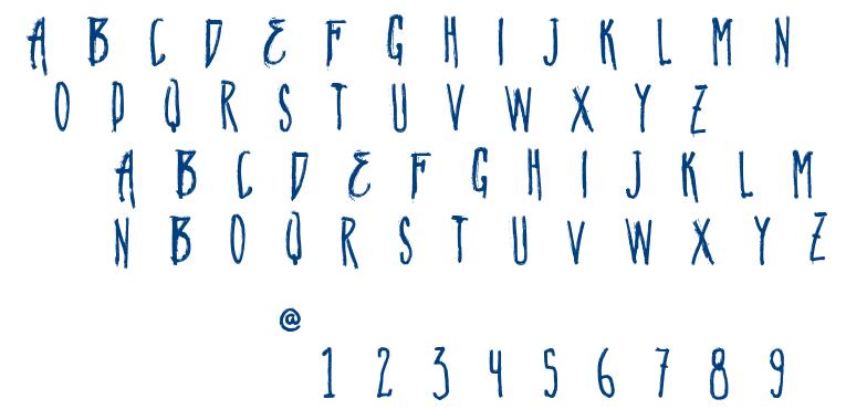 Vtks Natural font