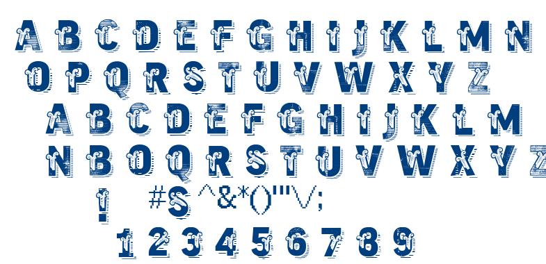 VTKS Trutagem font