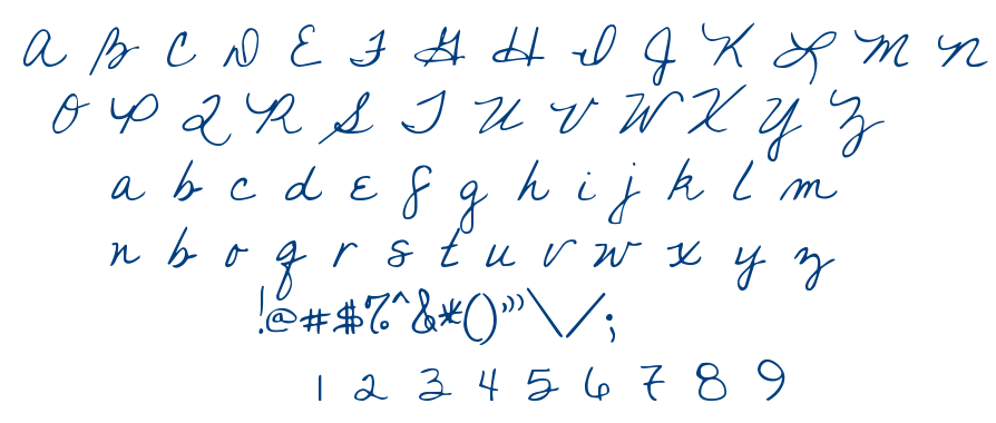 You Found Me font