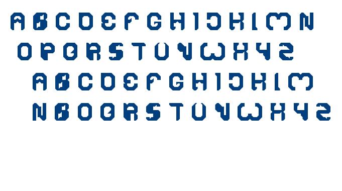 bizzare font