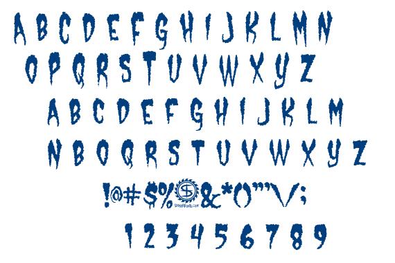 Castle Dracustein font