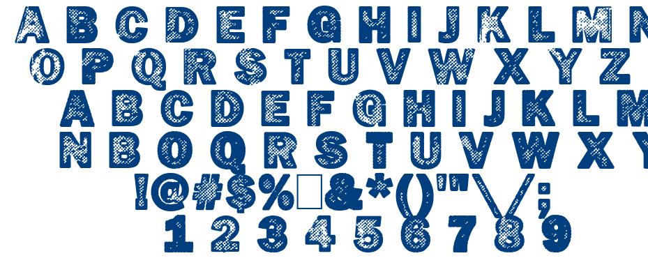 Hotöcop font