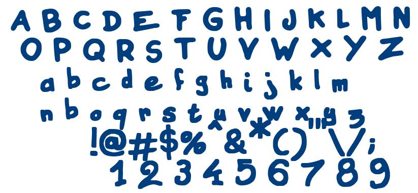 Instant Marker font