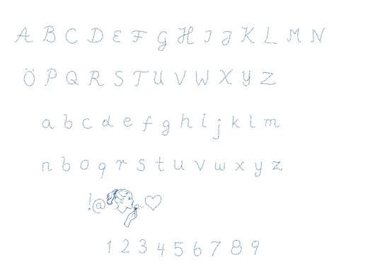 Pffft font