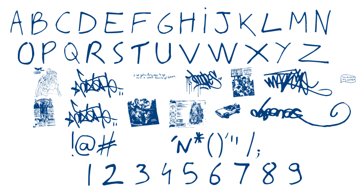 Writing You A Letter font