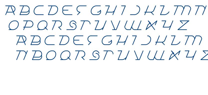 true self reliant font