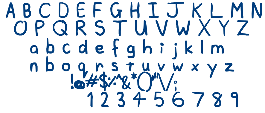 A plainer font font